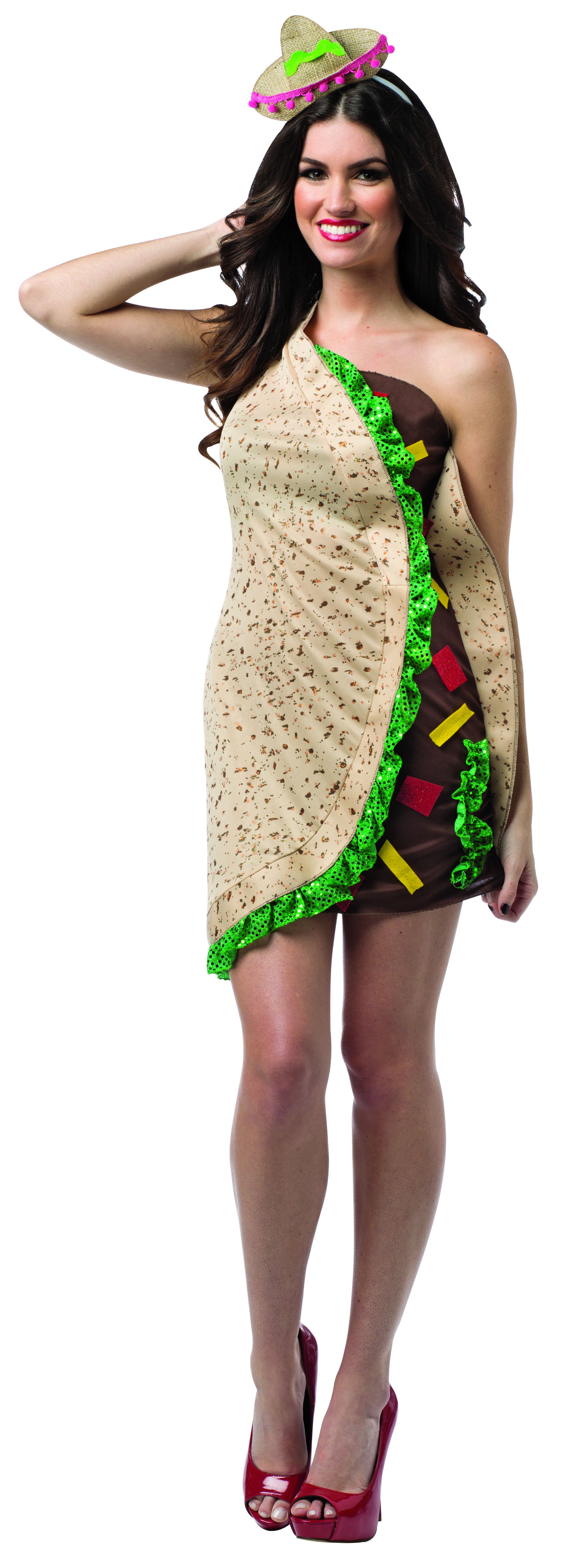 Taco Dress Adult #taco #rastaimosta #halloween #party #event ...