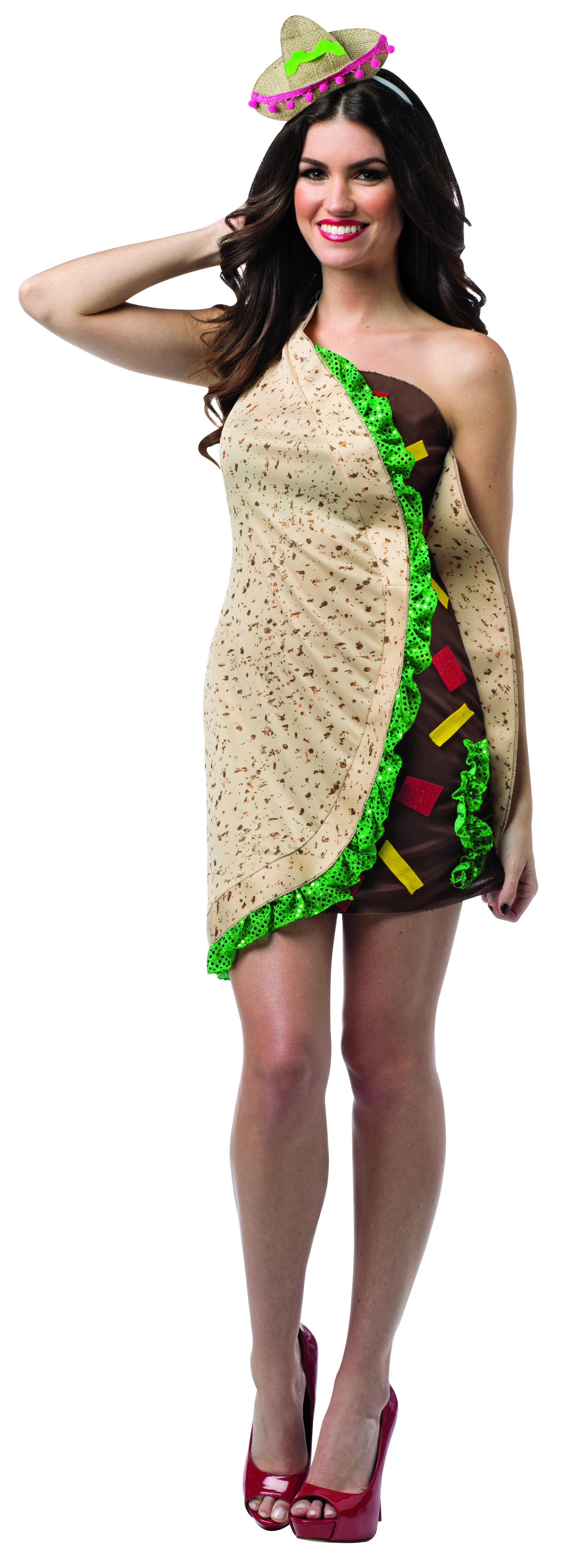 Taco Dress Adult #taco #rastaimosta #halloween #party #event ...