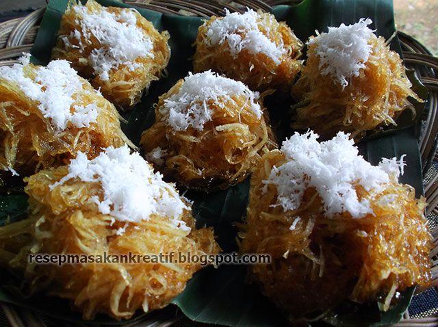 Sawut Singkong Resep Resep Sederhana Makanan Ringan Manis