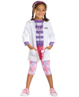 Disguise Kids Costume, Little Girls or Toddler Girls Doc McStuffins Deluxe Costume