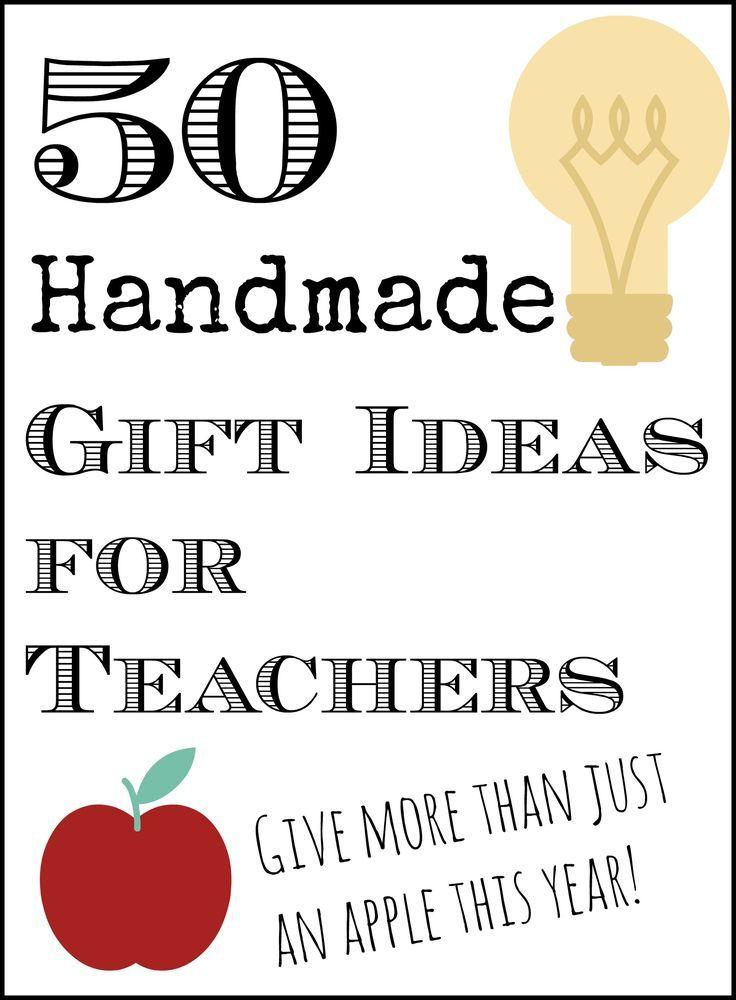 50 handmade gift ideas for teachers teacher 50th and gift 50 handmade gift ideas for teachers solutioingenieria Choice Image