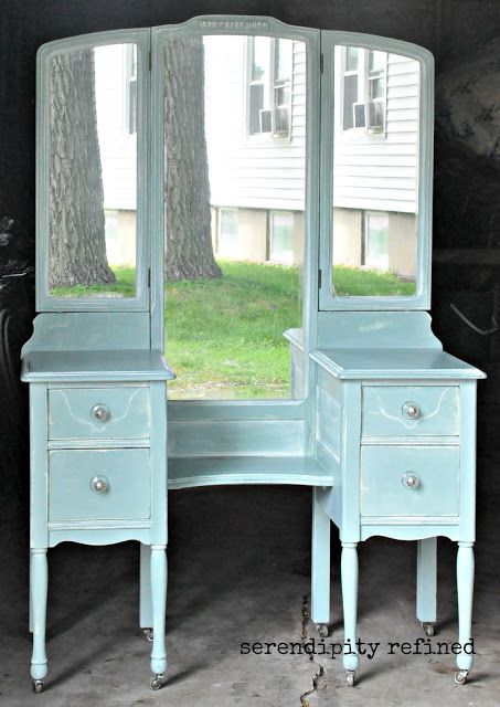 Chalk Painted Furniture Transformation Diy Vanity
