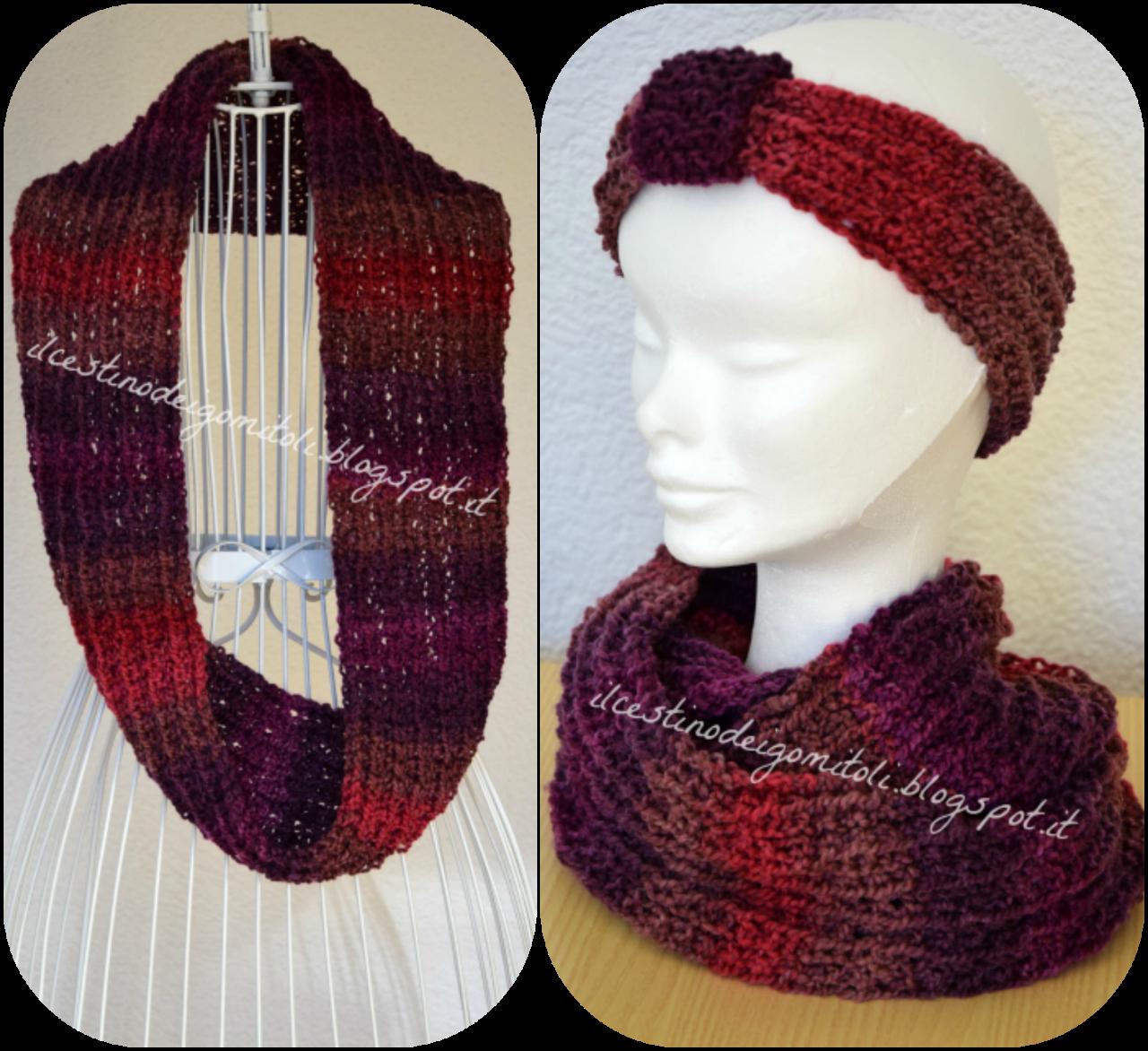 nuovo prodotto 0472d c98ed Sciarpa collo lavorata a maglia con filato multi color, con ...