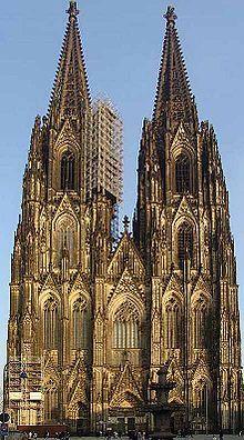 Cologne Cathedral Cathedral Cologne Cathedral German Architecture