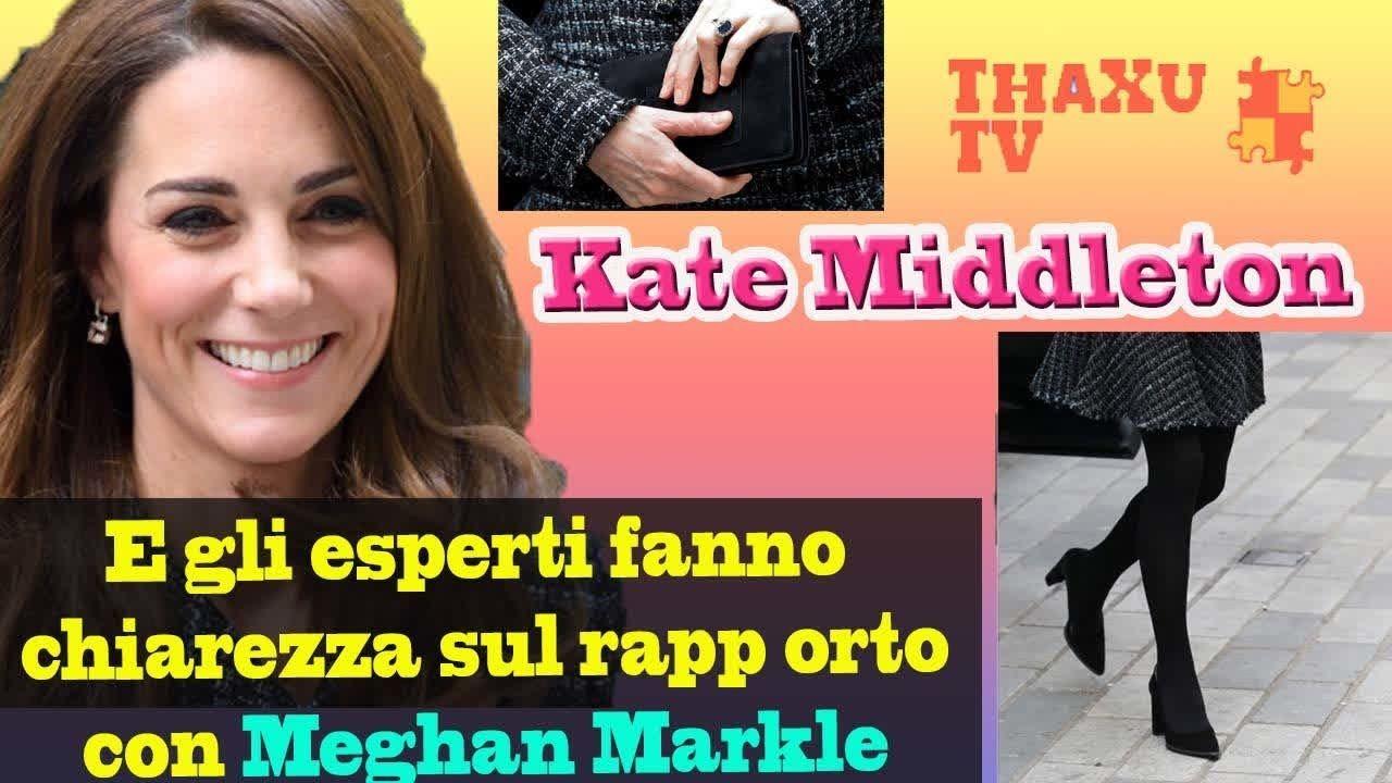 Kate Middleton prove da Regina col tailleur in tweed. E la verità su Meghan  Markle 6f9df654310