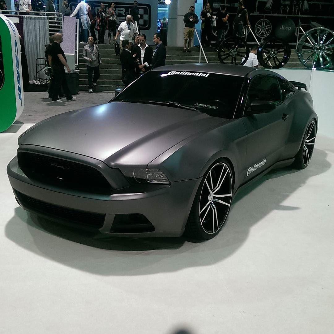 Nice #widebody Mustang #sema2015 By Mustang_ray