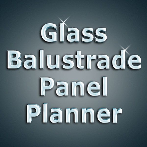 Glass Staircase Balustrade Kit: Glass Balustrade, Stairs With Glass