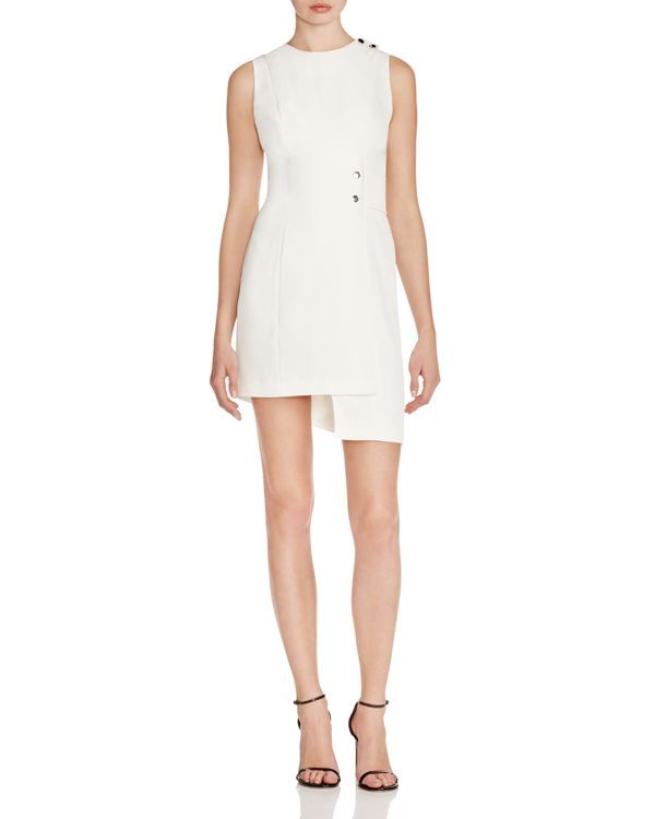 Finders Keepers Asymmetric Mini Dress