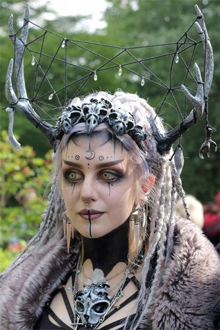 15-witch-halloween-make-up-looks-ideas-2016-8 | Halloween Witch ...