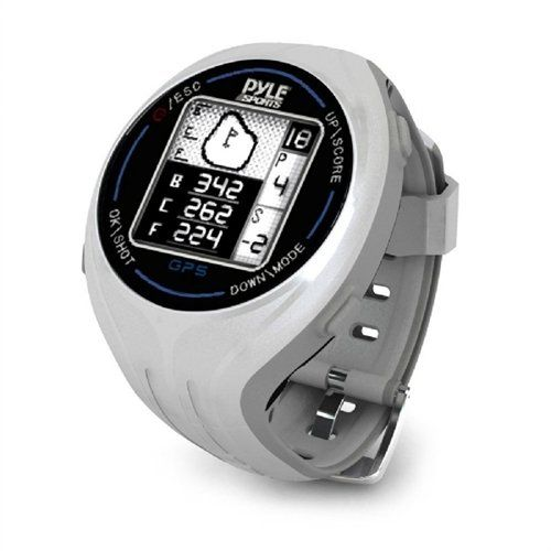 Pyle GPS Smart Golf Watch with Course Recognition Green