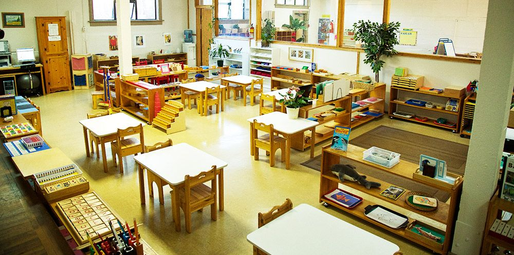 Montessori Classroom Design Ideas ~ Montessori classroom setup environment