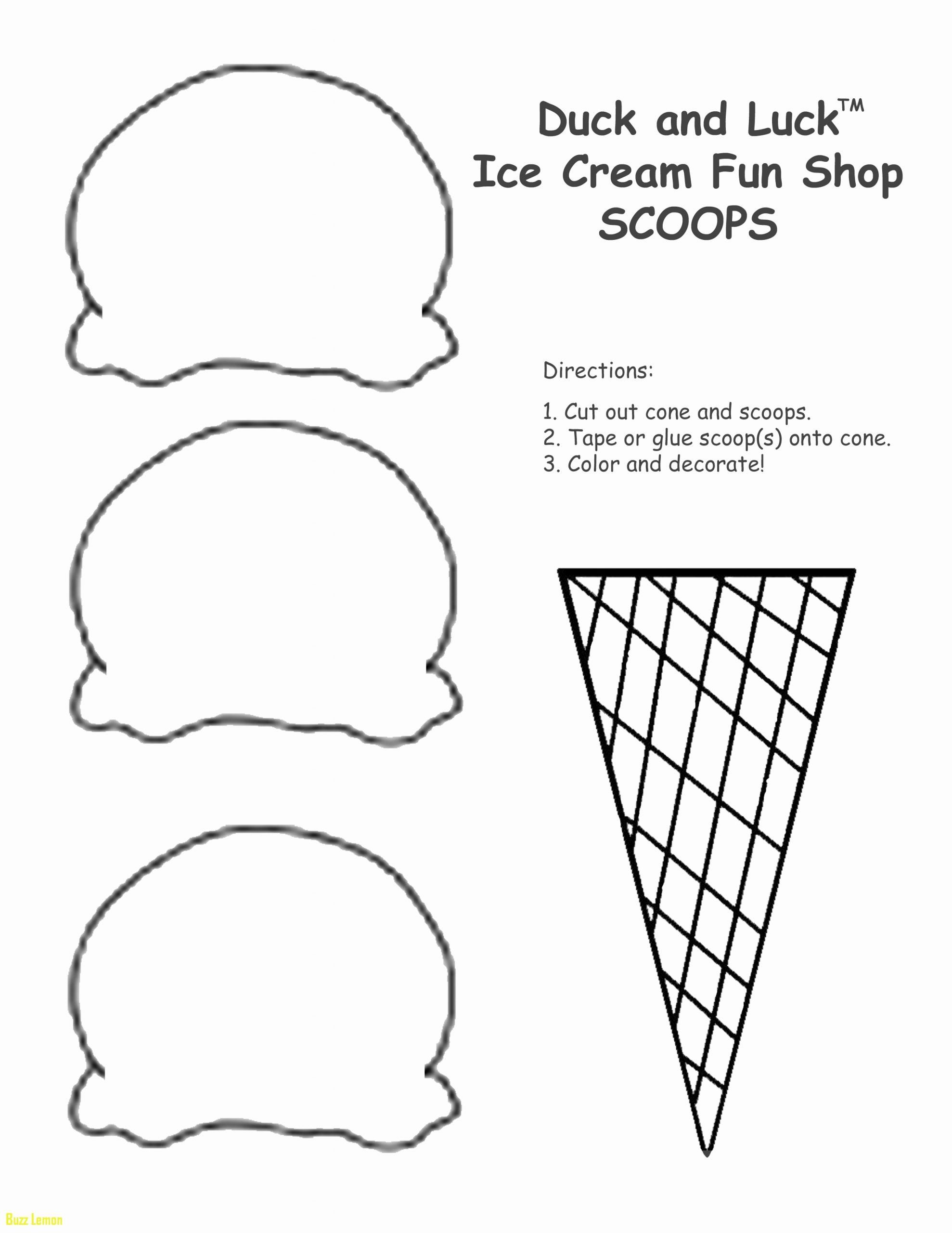 Icecream Cone Coloring Page Elegant Ice Cream Cone Coloring Pages To Print At Getdrawings In 2020 Ice Cream Coloring Pages Ice Cream Printables Cone Template