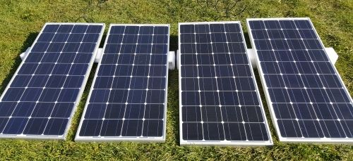 12000 Watt Solar Powered Mega Generator with 60 Amp Charge ...
