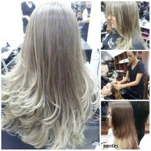 loiros acinzentado mechas - Pesquisa Google   cabelo ...