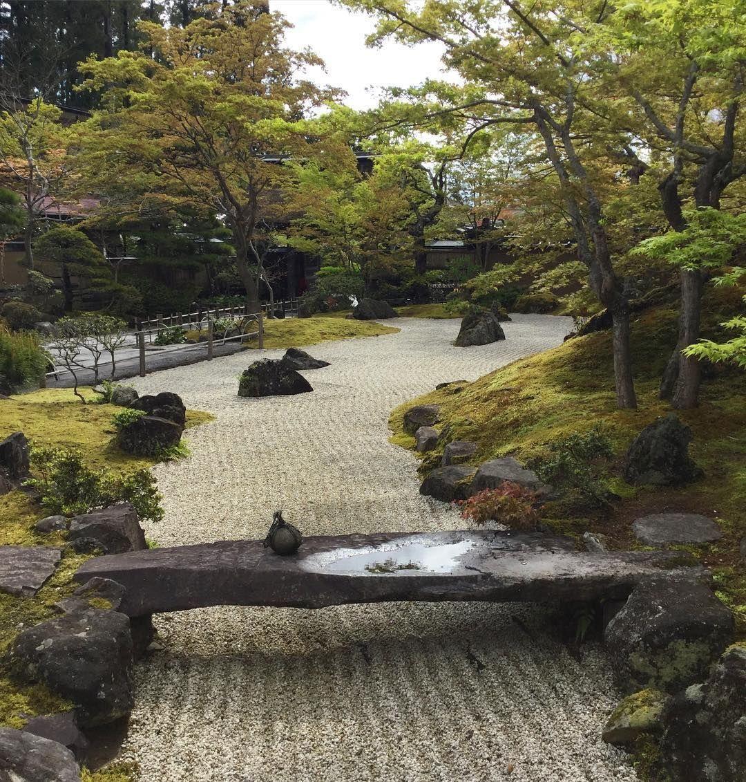 Japan garden .