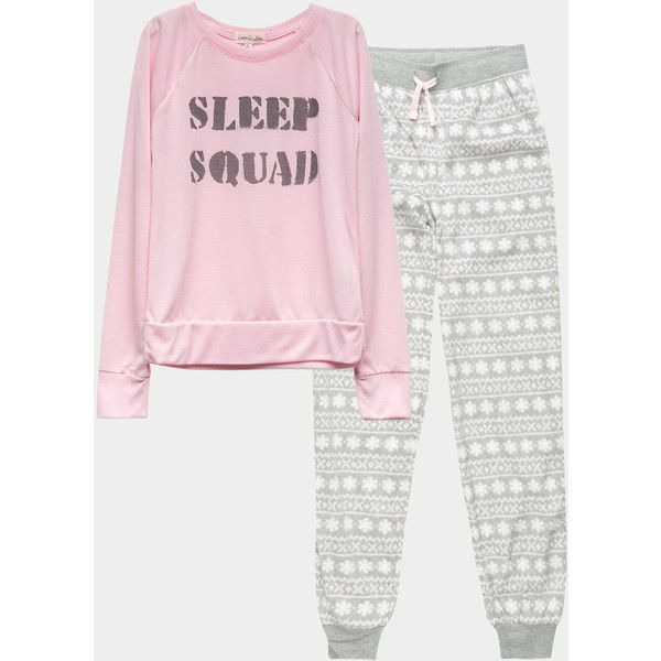 473d482f93a1 Cosmic Love Sleep Squad Girls Pj Set ( 36) ❤ liked on Polyvore featuring  intimates