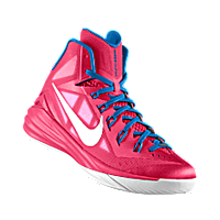 I designed the pink Boise State Broncos Nike women's basketball shoe just to support breast cancer.