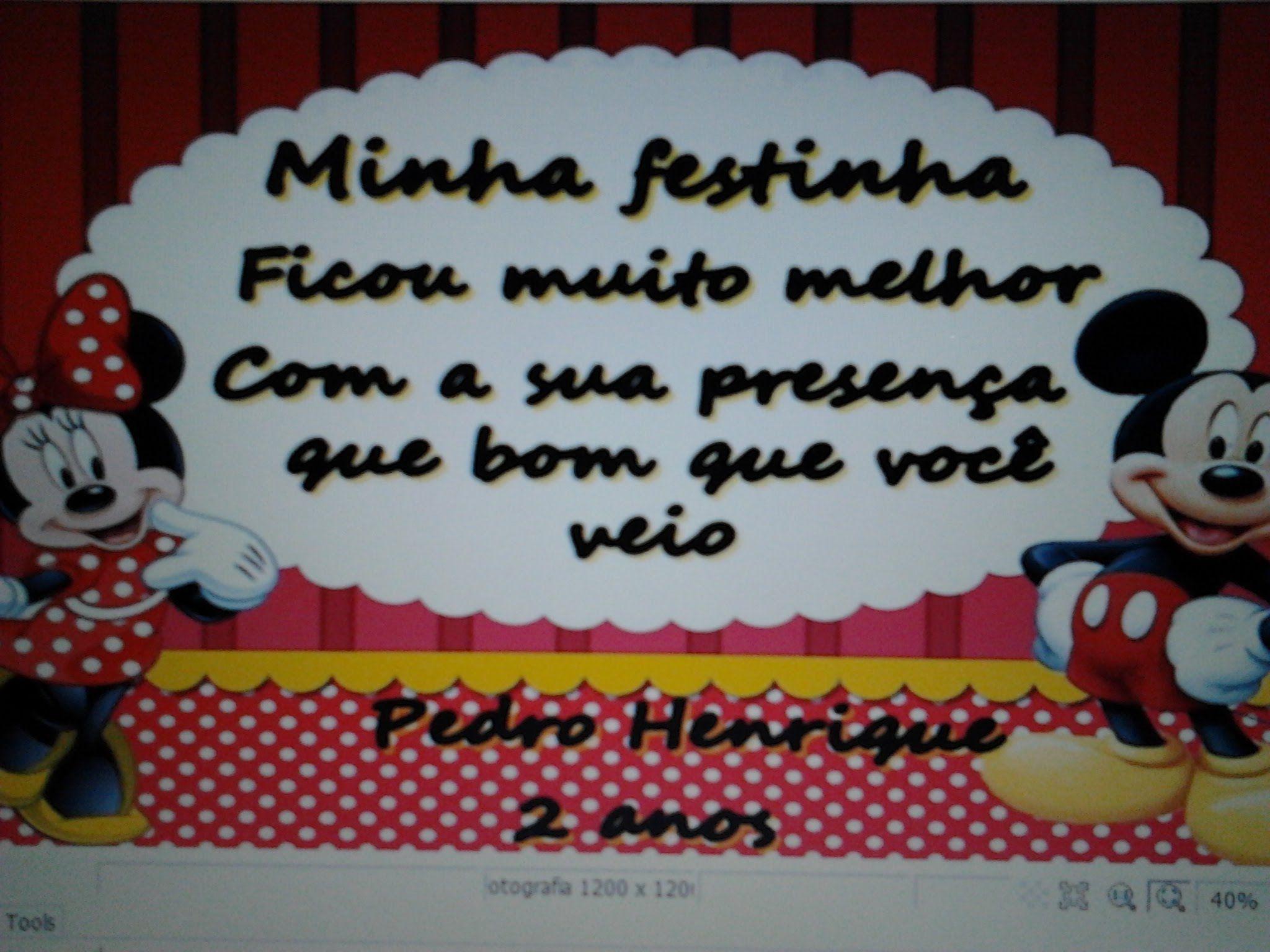 PREPARATIVOS FESTA MICKEY TODOS OS FINALIZADOS VÍDEO 01