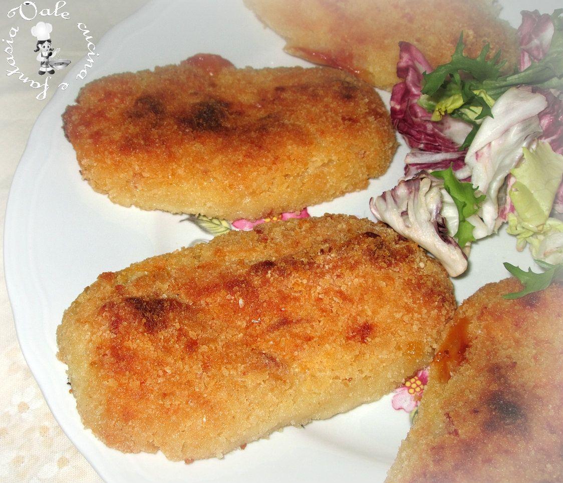 Panzerotti di patate al forno | Fantasia, Cucina and Foods
