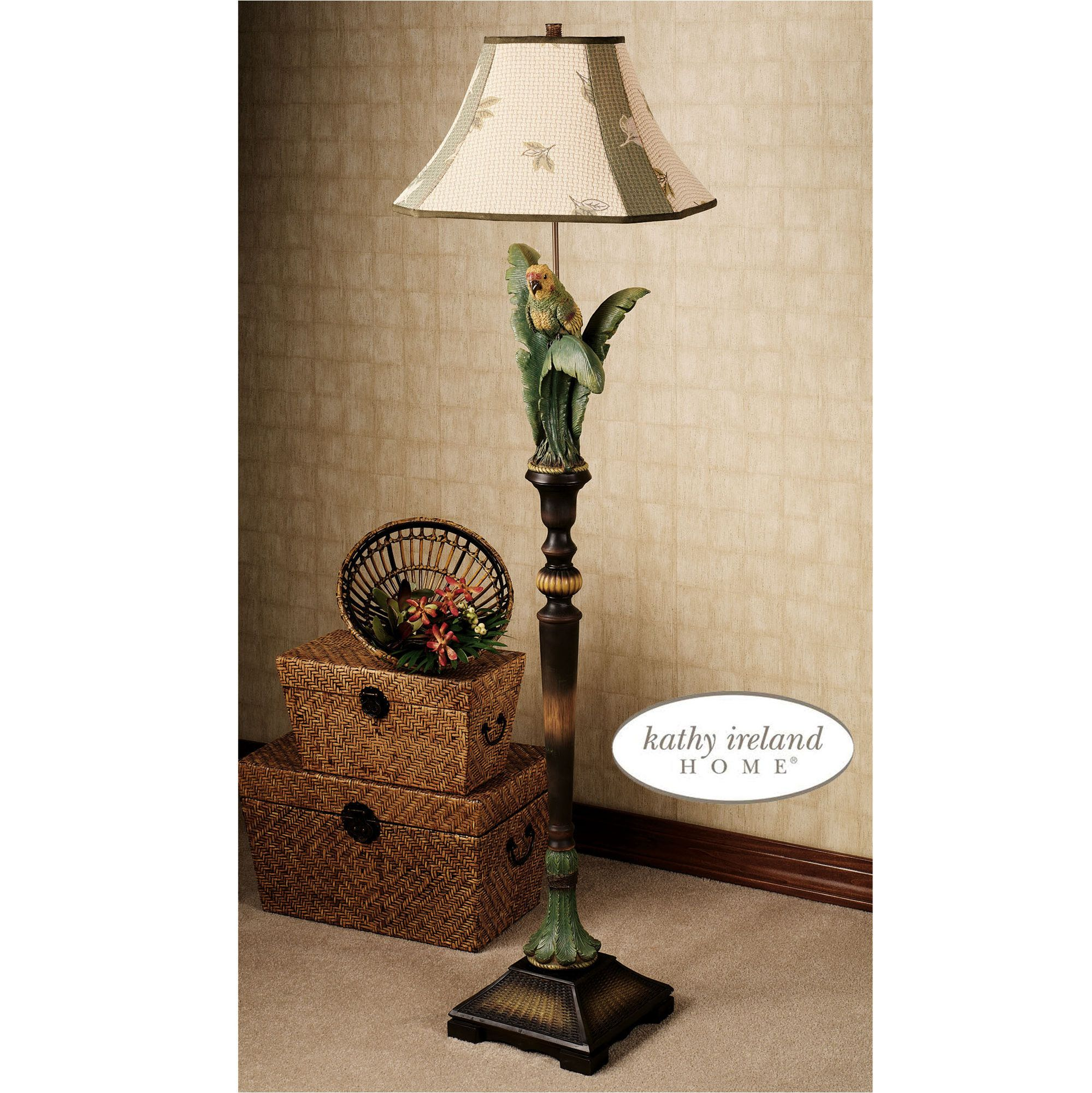 For a tropical feel. Tropical Parrot Floor Lamp | Home sweet home ...