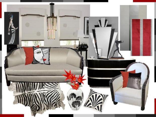 Dekorieren Im Art Deco Stil Luxus Wohnung - mystical.brandforesight.co