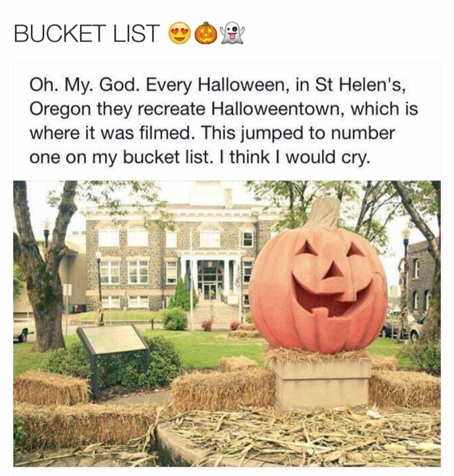 Halloween Town Saint Helens Oregon Travel Halloween
