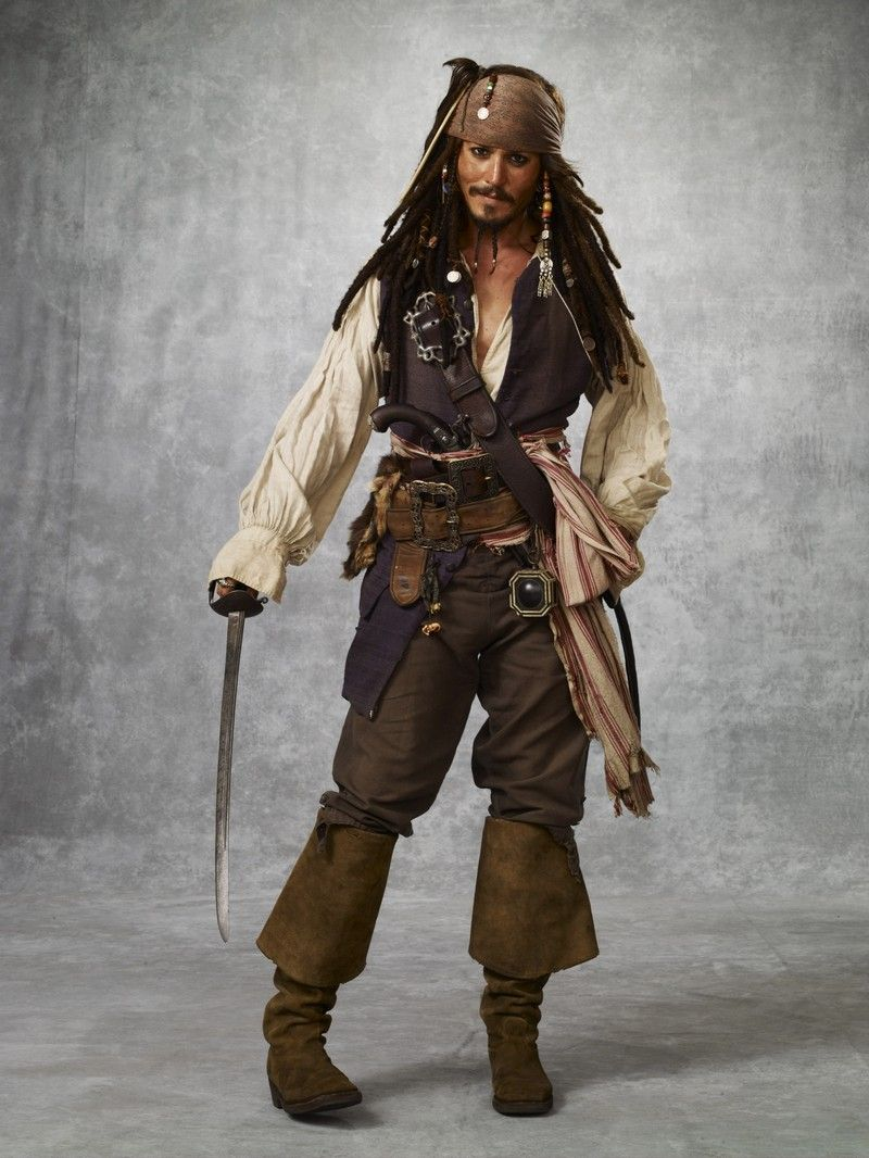 """Johnny Depp en""""Piratas del Caribe: En el Fin del Mundo"""" (Pirates of the Caribbean: At World's End), 2007"""