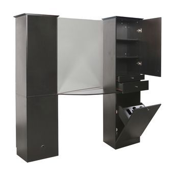Pure Sana Black Back To Tower Styling Station