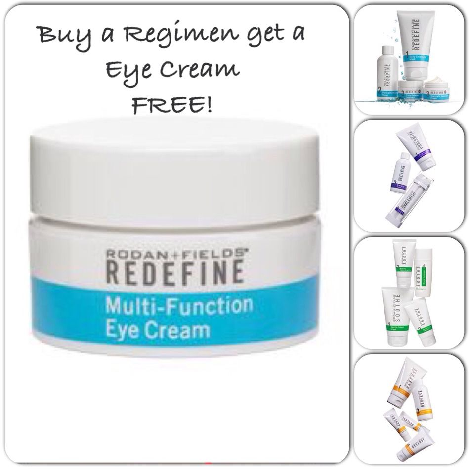 Buy A Regimen Get A Free Eye Cream Multifunction Eye Cream