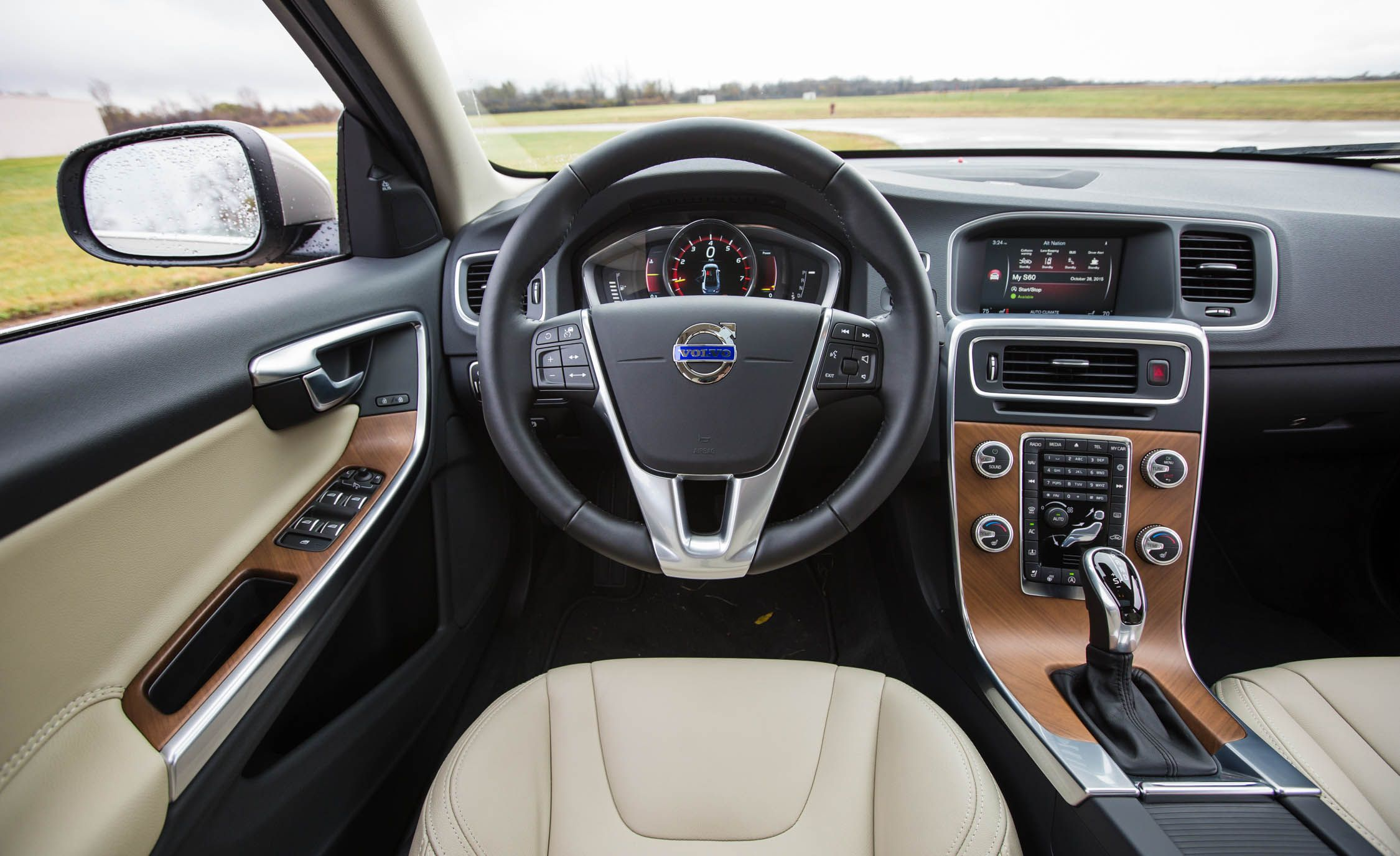 Minimal scandinavian luxury volvo s60 interior