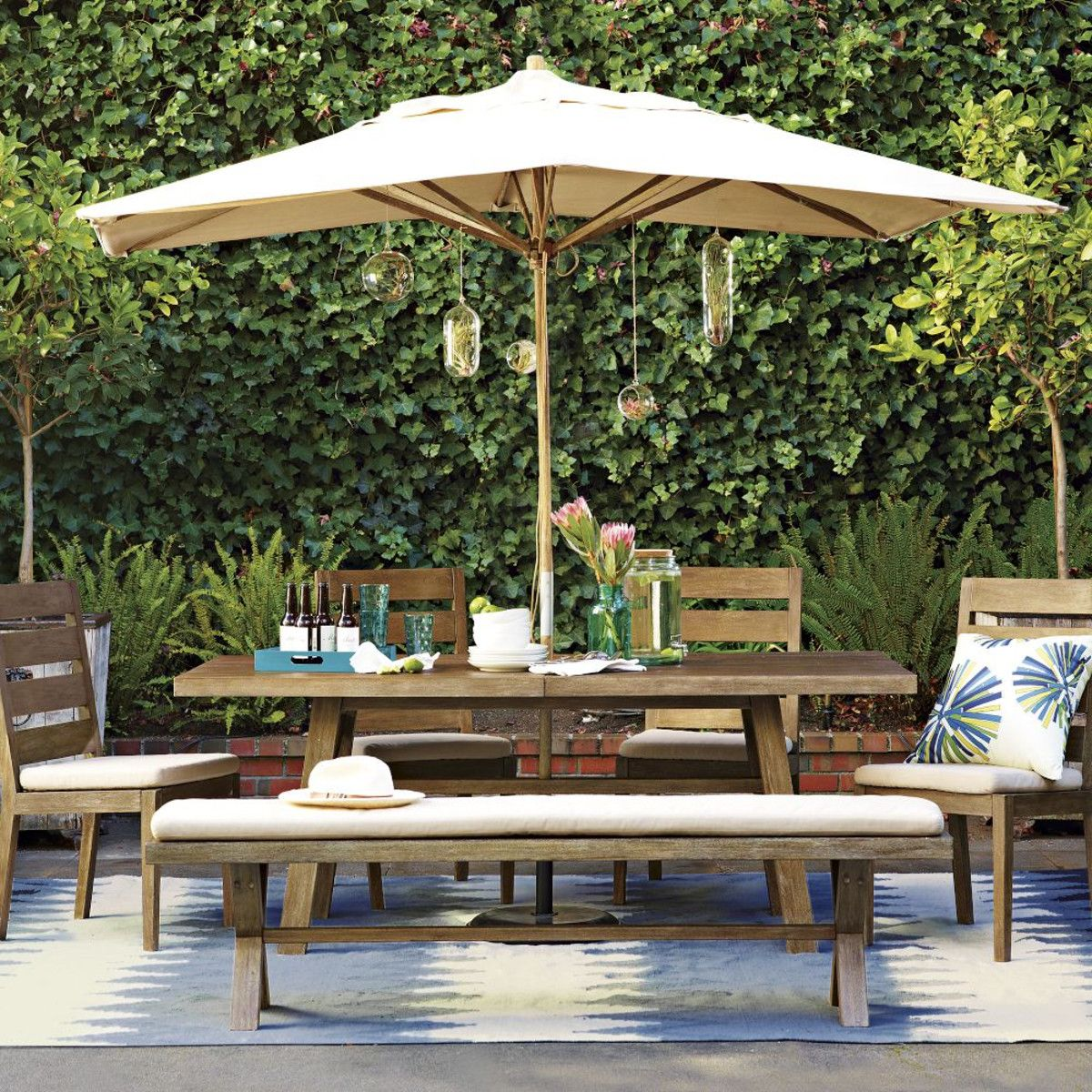 Umbrella Need For Lounge Chair Area Outdoor Pinterest Patio