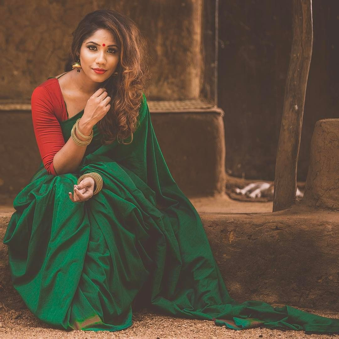 Image result for Simple Saree Photo Posing