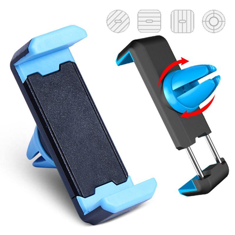 Supporto Del Telefono dell'automobile Air Vent Mount Rotazione di 360 Gradi Universale supporto del telefono per iphone 6 samsung saldamente basamento del telefono mobile supporto