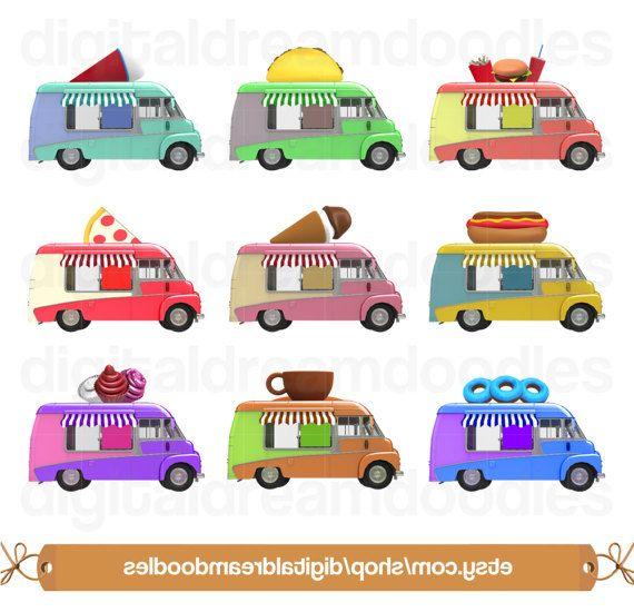 Ice Cream Clipart, Ice Cream Truck Clip Art, Waffle Cone Image ...
