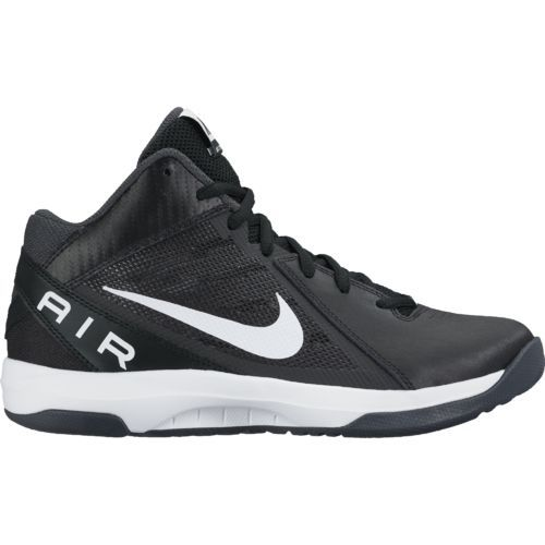 Nike Women's Air Overplay IX Basketball Shoes (Black/White/Anthracite/Dark  Grey