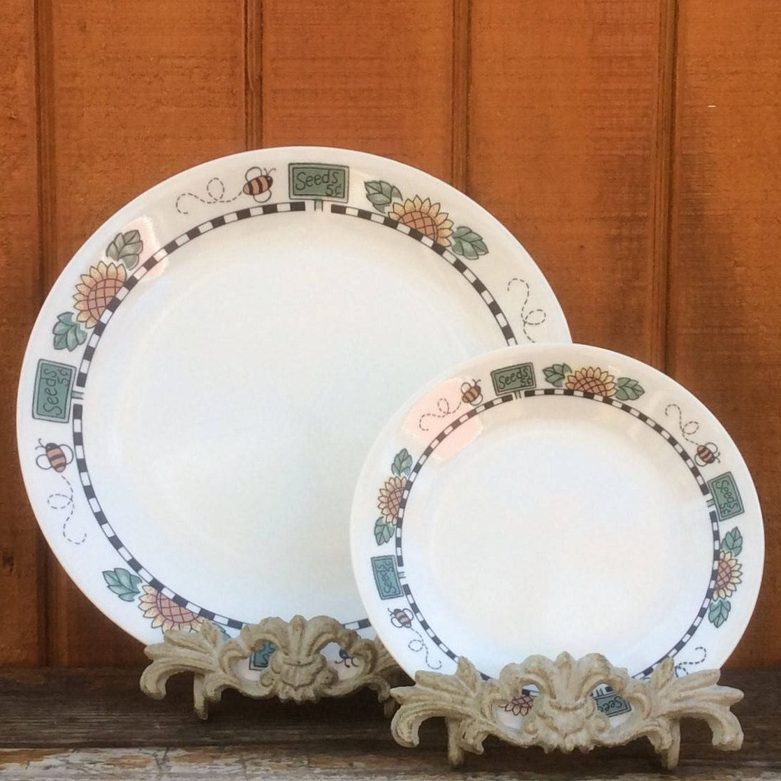 Sunblossoms Dishes | Corelle PYREX Corning | Dinner Plates & Bread ...