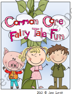 common core fairy tale fun from seejaneteachmultiage on 78 pages this. Black Bedroom Furniture Sets. Home Design Ideas