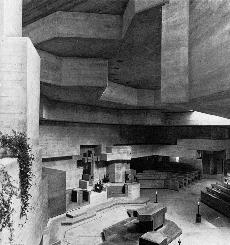 holy cross church chur switzerland 1964 69 walter m f rderer walter f rderer. Black Bedroom Furniture Sets. Home Design Ideas