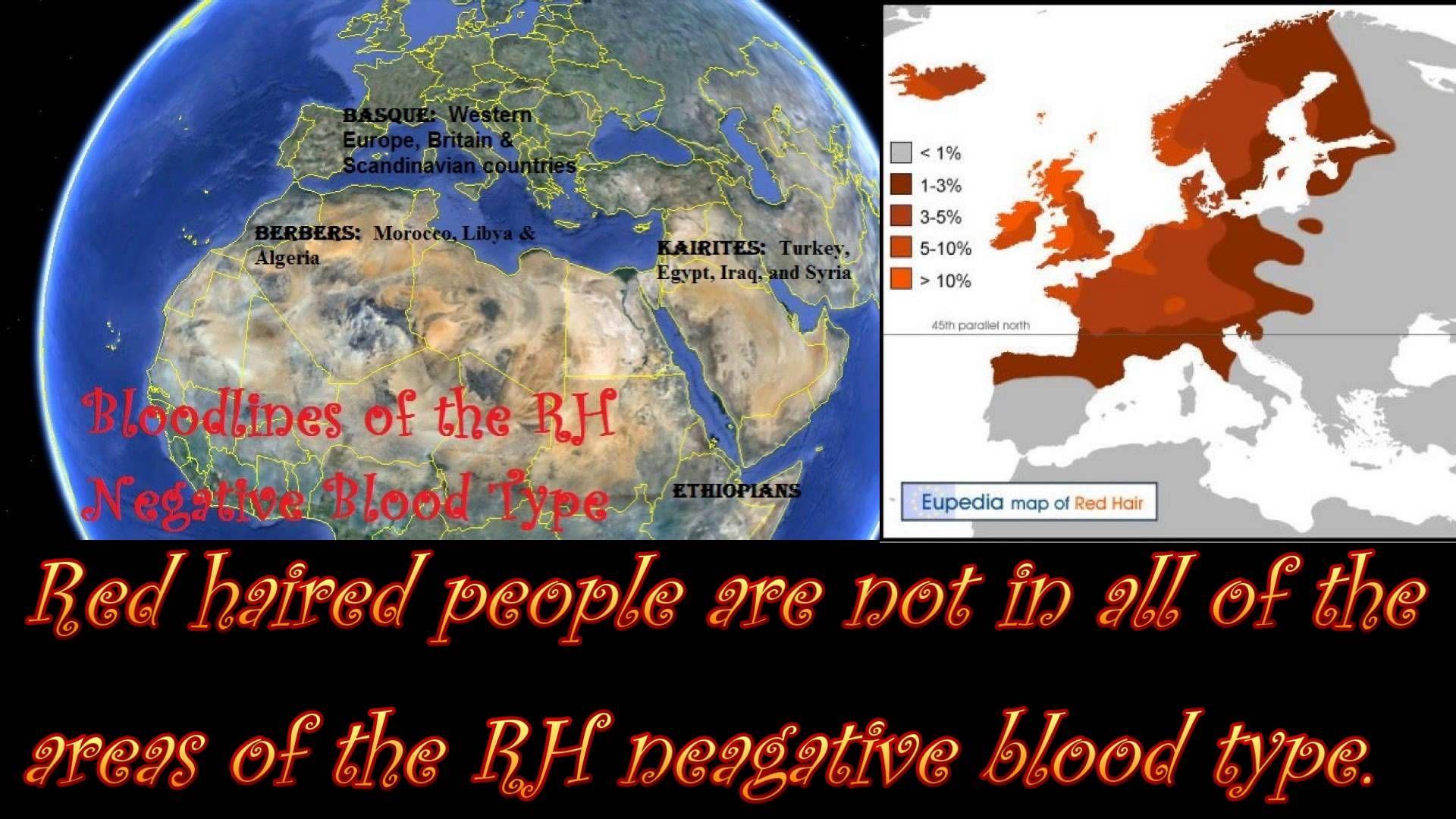 Rh Negative blood type - AnthroScape