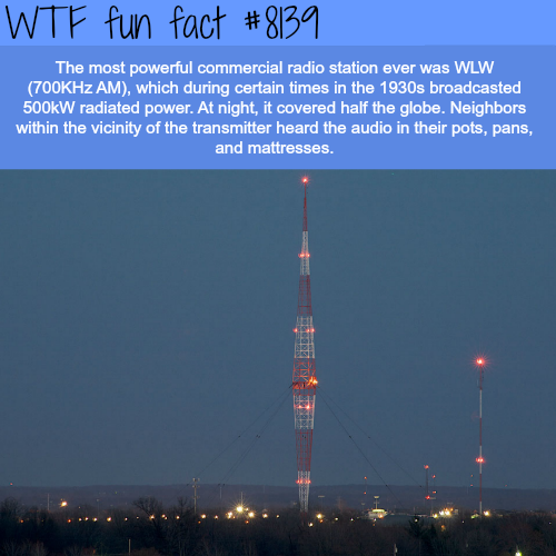The most powerful radio station - WTF fun fact | WTFacts