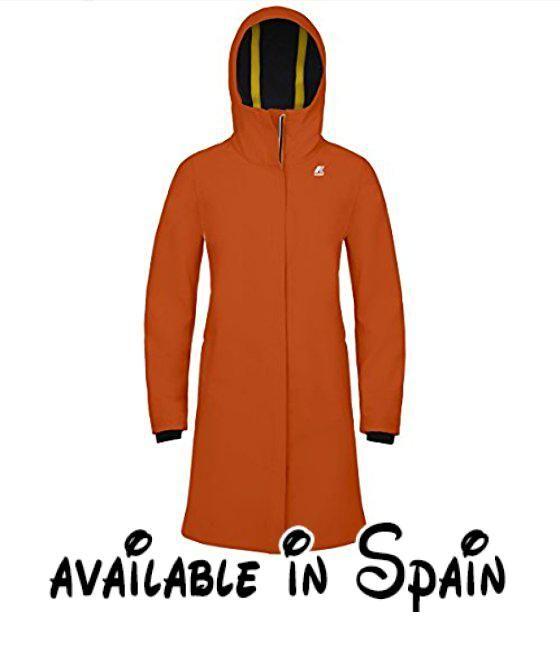 B076FL2XK5 : K-Way - Chaquetas - Stephanie Bonded - WGQ - Orange Pumpkin -  medium. K-Way: inspírese en la comodidad de esta marca de ropa y accesorios  para ...