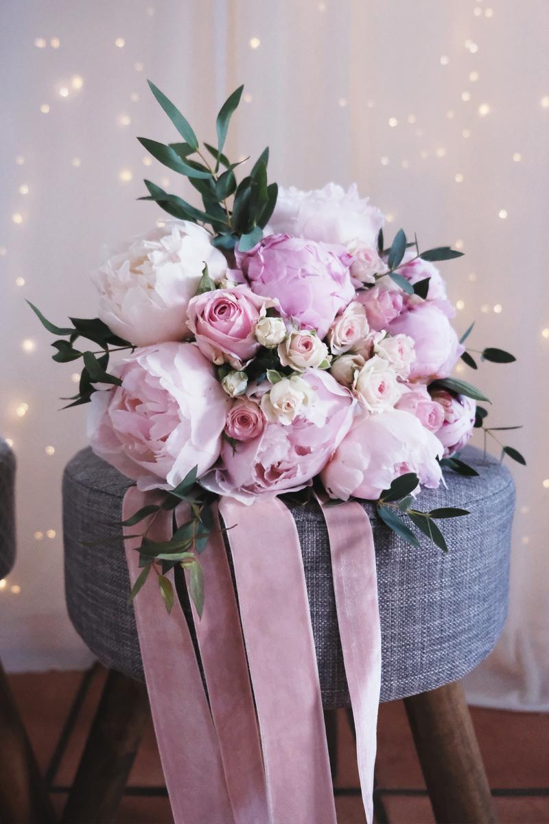 Feuille D Eucalyptus Bouquet mon bouquet de mariée romantique et bohème lors de ce