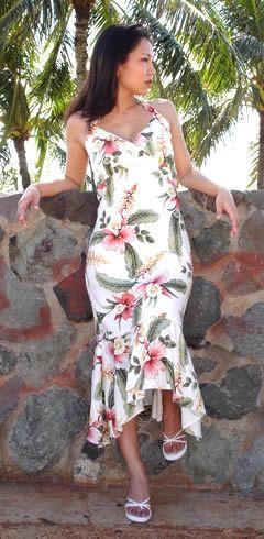 Sexy Hawaiian Island Dresses