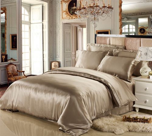 19 Momme Seamless Silk Sheets Set Comforter Cover