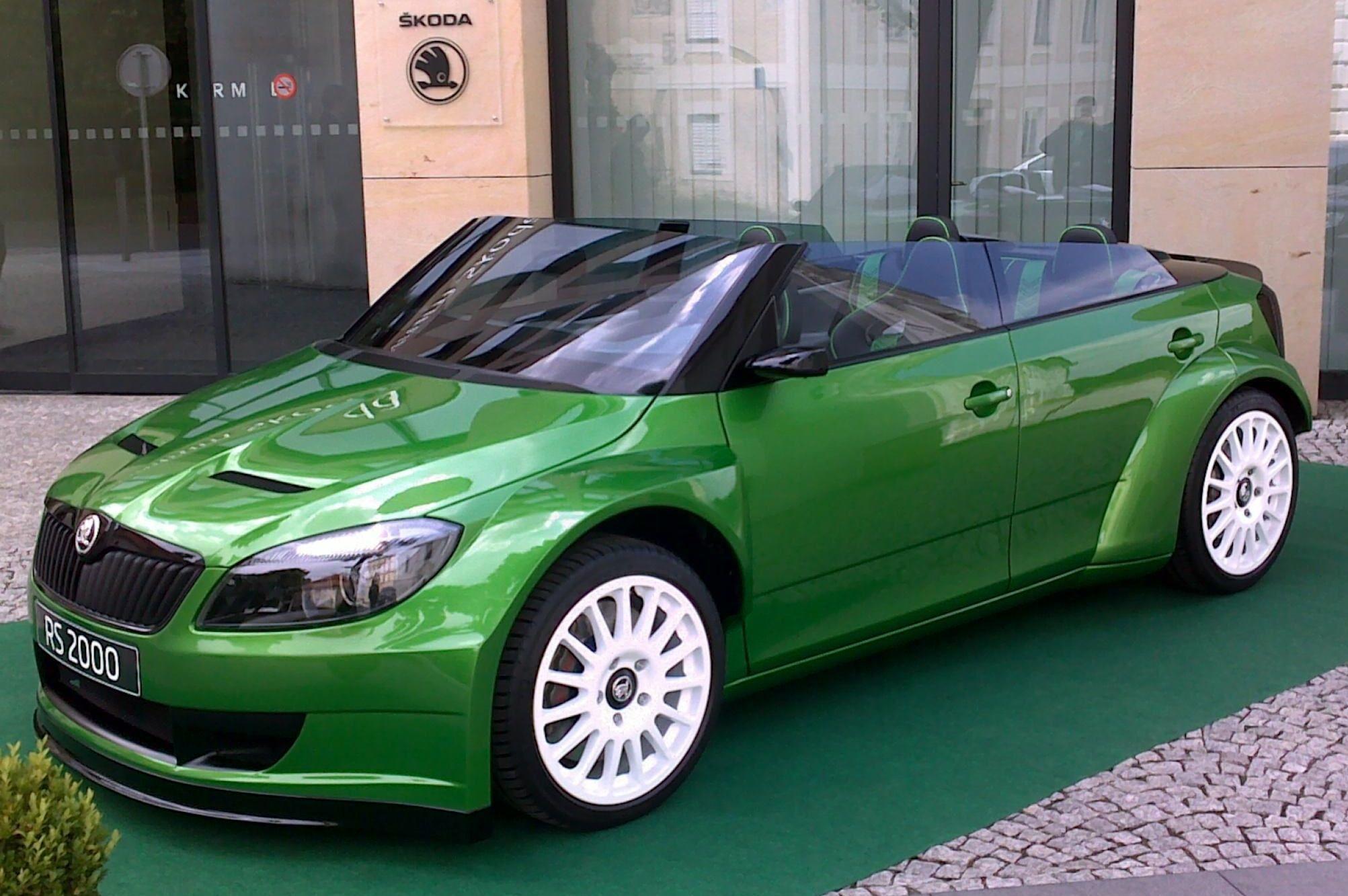 Skoda Fabia Rs 2000 Motor Autok