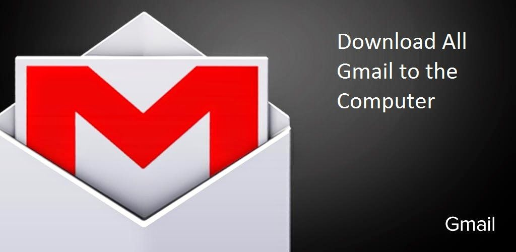Download all gmail to the computer for offline reading