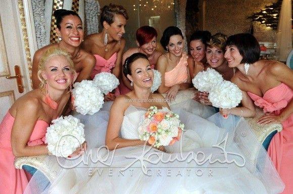 c4f8c7b0bde6 Matrimonio internazionale. Bridesmaid  le amiche della sposa