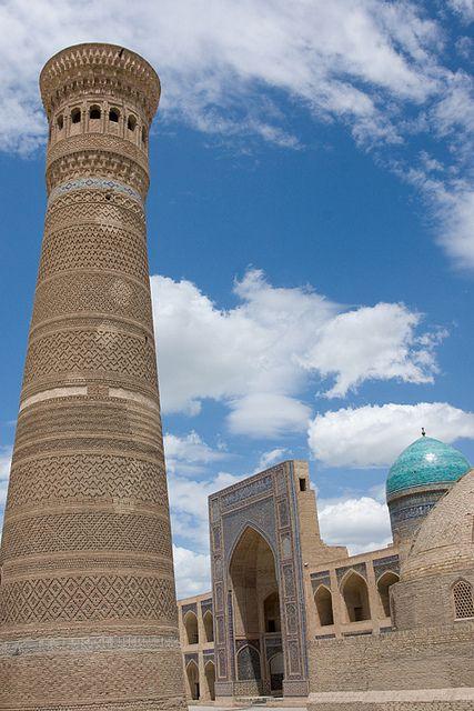 Mosque, Po-i-Kalyan, Bukhara, Uzbekistan