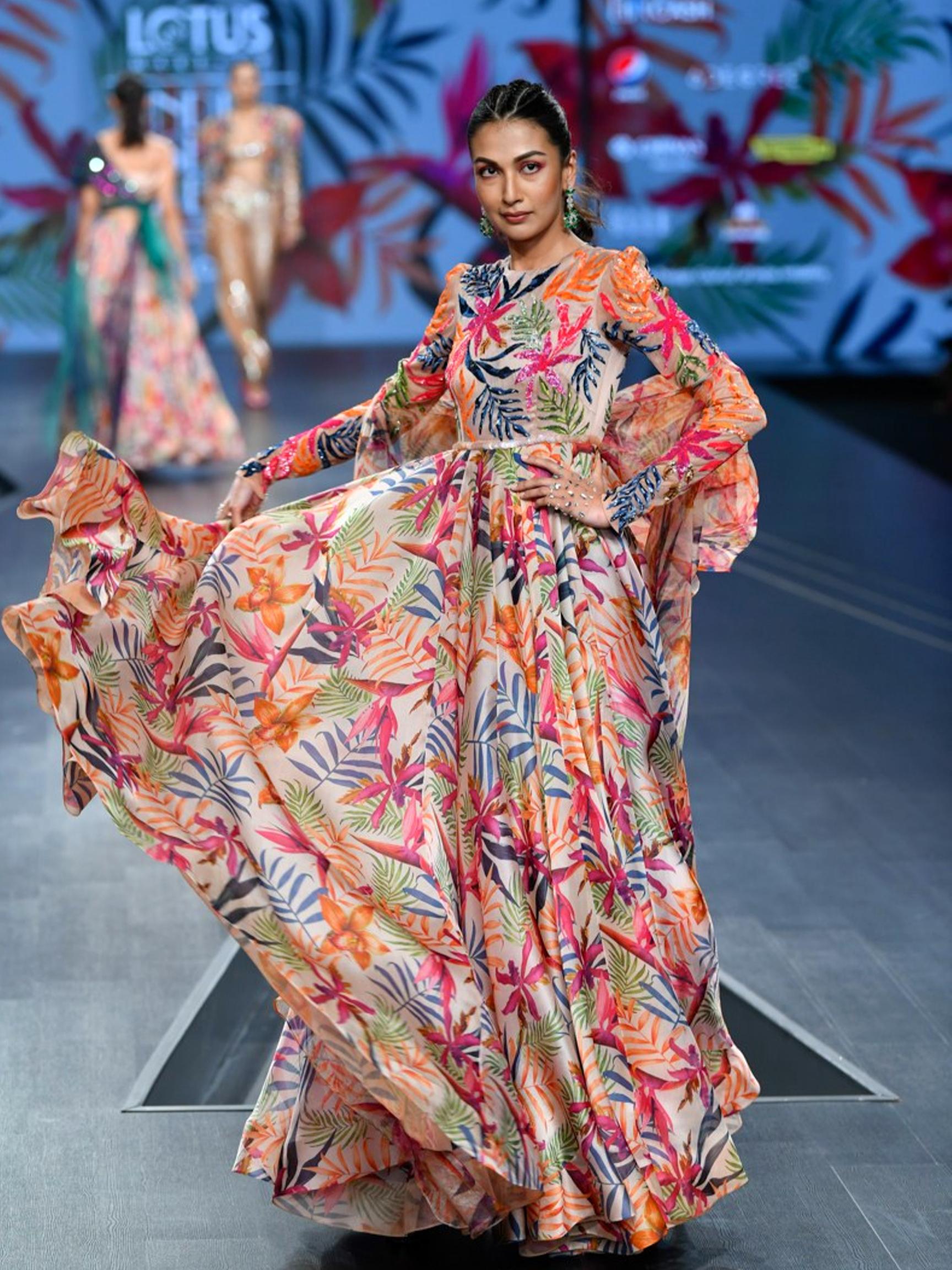 Lotus Make Up India Fashion Week Spring Summer 2020 Mahima Mahajan India Fashion Week India Fashion Lakme Fashion Week