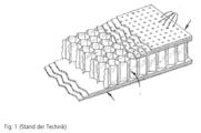 Absorbierende Lärmschutzwände. Patent Drawing